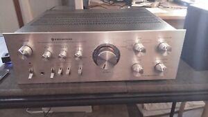 Kenwood KA-7100 Integrated Amplifier restored amp + free bluetooth receiver