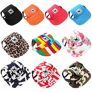 Pet Dog Hat Sports Windproof Travel Visor Hats Baseball Cap for Puppy Large Dogs