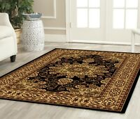Traditional Oriental Medallion Area Rug Persian Style Carpet All Sizes