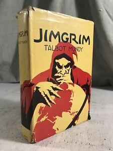 Jimgrim by Talbot Mundy Vintage Mystery Book A.L. Burt Reprint Dust Jacket