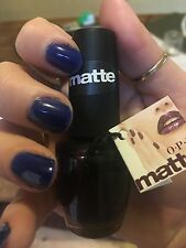 Opi nail polish rare free shipping Lincoln park after dark matte