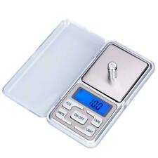 Mini Pocket Digital Scales Jewellery Gold Weighing  LCD Electronic 0.1g  200g UK