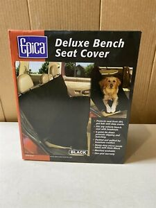 Car Seat Cover for Bench Seats Great for Pets Color Black