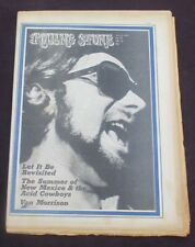 Rolling Stone Magazine Van Morrison / The Who Issue No. 62 July 09, 1970