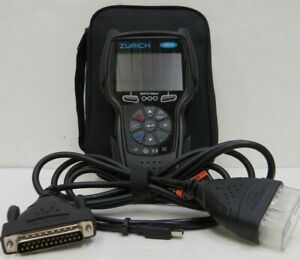 ZURICH ZR15 3.5 In. OBD2 Code Reader with Active Test/FixAssist in Carrying Case