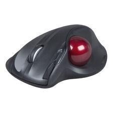 SPEEDLINK Aptico Wireless Ergonomic 1600dpi Laser Trackball Mouse Black/Red