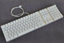 Original Apple Pro Tastatur, USB, QWERTZ, DEUTSCH, weiß, TOP