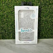 NEW Case Mate Twinkle Apple iPhone Xs MAX Stardust Clear Duochrome Flecks