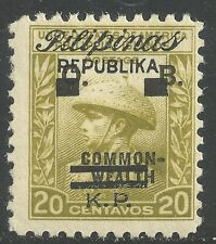 U.S. Possession Philippines stamp scott no6 - 20 cent issue of 1944  mnh #8