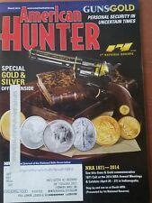 American Hunter Magazine Gold & Silver March 2014