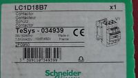 Contacteur LC1D18 -  LC1D18B7  24V AC  7,5kW 10Hp SCHNEIDER  Contactor 034939