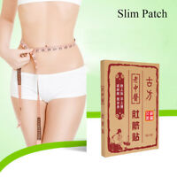 10Pcs Slimming Navel Stick Slim Patch Weig Loss Burning Fat Adhesive Sheet JE