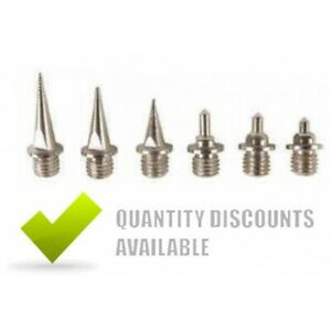 REPLACEMENT RUNNING SPIKES TRACK AND CROSS COUNTRY 5mm 6mm 7mm 9mm 12mm 15mm