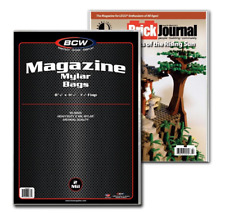 (25) BCW MAG-M2 Magazine MYLAR Sleeves 2mil Bags Covers Store Protect Archival