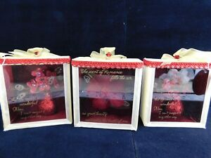 Shadow Box Small Floral Shadow Boxes Lot of (3) By Unforgettable New old stock