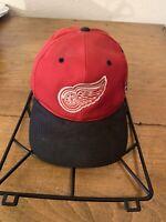 Vintage Rare Detroit Red Wings Hat Cap GCC G.C.C. Adjustable Strapback
