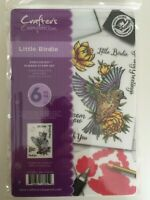 Crafter's Companion Ezmounted Stamp Set - little Birdie NEW