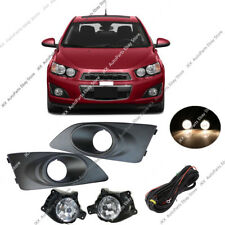 Fog Light Kit w/ Wiring, and Bezels o Fit For Chevrolet Sonic Aveo 2011-2015