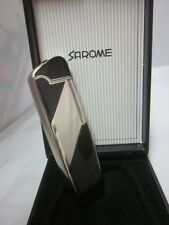 Vtg New Butane Sarome Cigarette Pipe Lighter Roll Flame Flint SD16W-07 Deco