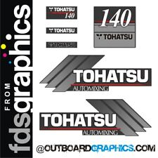 TOHATSU 140hp automixing hors-bord Moteur Autocollants/sticker kit