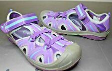 Merrell Hydro Hiker Sandal - Girl's Size 6W, Purple/Blue