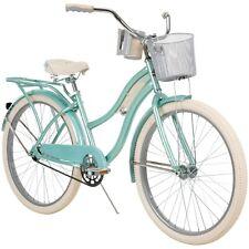 "26"" Huffy Nel Lusso Classic Women's Cruiser Bike, Mint Green"