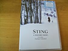 STING A WINTER'S NIGHT LIVE FROM DURHAM CATHEDRAL DOPPIO  DVD