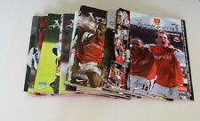 More details for arsenal home programmes complete 2001/02 (x31) (pl/fac/lc/cl/friendly) mint
