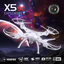 Xmas HD Cam Syma X5SC 2.4Ghz 4G RC Drone Quadcopter 6 Axis Gyro Helicopter TOYSG