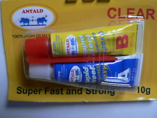 Super Strong 4 Minute 2 Part Epoxy Adhesive Rapid Steel Metal, Glass, Concrete