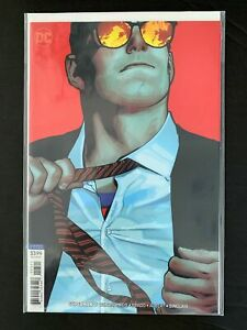 SUPERMAN (5TH SERIES) #3B DC COMICS 2018 VF/NM ADAM HUGHES VARIANT COVER