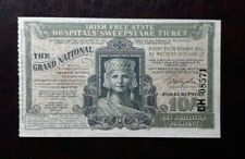 Irish Free State Hospitals Sweepstake Ticket 1937 The Grand National. Excellent