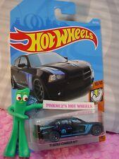 '11 DODGE CHARGER R/T #158✰black;mopar✰MUSCLE MANIA✰2019 i Hot Wheels CASE M/N