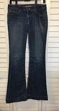 J BRAND Love Story Womens 29 Flare Leg Bell Bottom Jeans Dark Vintage Denim