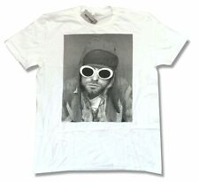 Kurt Cobain Nirvana Sunglasses Pic Image White T Shirt New Official Soft
