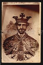 Leo I, King of Armenia original 1930 postcard ethnic