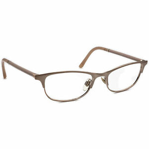 Burberry Women's Eyeglasses B 1249 1174 Rose Gold B-Shape Frame Italy 51[]17 135