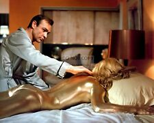 """SEAN CONNERY & SHIRLEY EATON IN THE FILM """"GOLDFINGER"""" BOND - 8X10 PHOTO (OP-121)"""