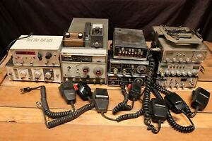 Lot CB Radio Sweeper Generator Realistic Midland HP Cobra Handset Antenna SSB