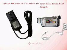 AC Adapter For Canon ES75 G35 V60Hi V60n Hi8 Hi-8 8mm Video Camcorder Power Cord