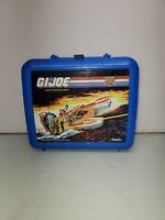 Aladdin GI Joe Tiger Force Plastic Blue Lunchbox 1988 Vintage (No Thermos)