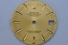 ROLEX MIDSIZE DATEJUST GOLD TONE DIAL 24 MM  (ref.1/2421)