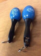 Bud Light Maracas Bottle Opener Key Chain ~ Set of (2) ~ NEW & F/S