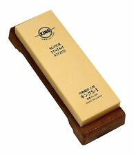 "Japanese whetstone ""King S-1 #6000"" water sharpening stone/razor"