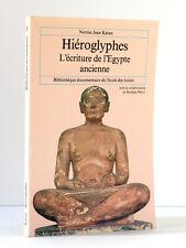 Hiéroglyphes L'écriture de l'Égypte… Norma Jean KATAN L'école des loisirs 1982