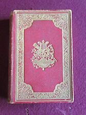 Scott's Poetical Works Frederick Warne and Co ( Circa 1880 red morocco binding)