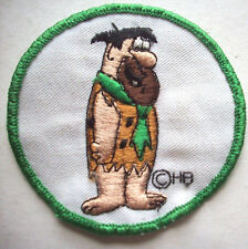Fred Flintstone Hanna Barbera Embroidered travel patch unused