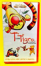 T COME TIGRO cartone animato Walt Disney VHS video RARA offerta idea regalo 2018