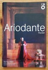 Ariodante programme ENO English National Opera 2002 Sarah Connolly Eric Owen