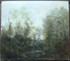 Peinture par Jules Edmond CUISINIER Barbizon